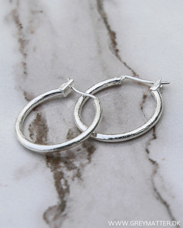 Mini Silver Hoops