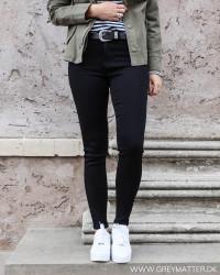 Vicommit Black Basic Jeans
