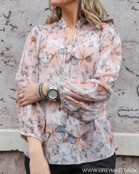 Fiona Blossom Peach Blouse