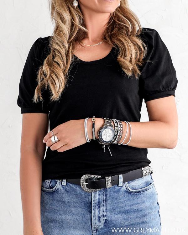 Visus Baloon Black T-Shirt