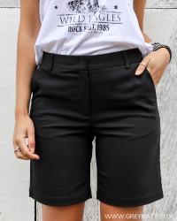 Viklera Black City Shorts