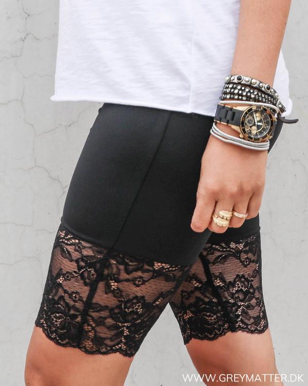 Shorts til under kjoler og nederdele
