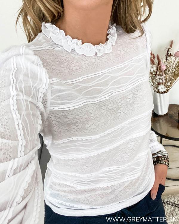 Hvid bluse fra Pieces