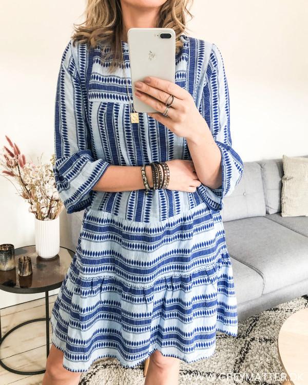 Neo Noir Noir tunika kjole set for fra