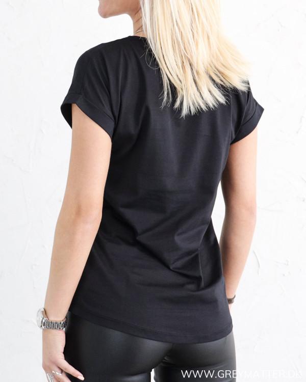 Vila Vidreamers Pure Black T-Shirt