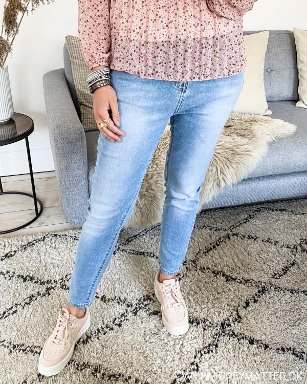 Light Blue Washed Denim Jeans