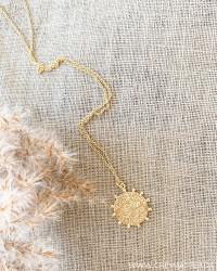 Golden Amulet Necklace