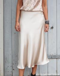 Bovary Champagne Skirt