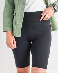 Pcmiva Black Bike Shorts