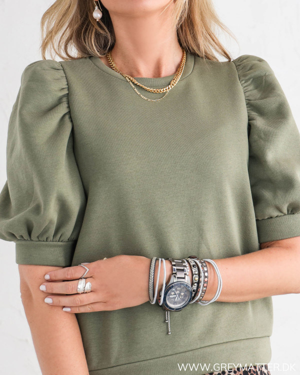 Puff bluse fra Pieces