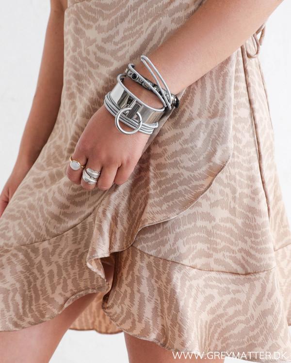 Kjole med zebraprint fra Neo Noir