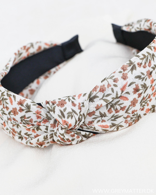 Pcmacca Bright White Flowers Hairband