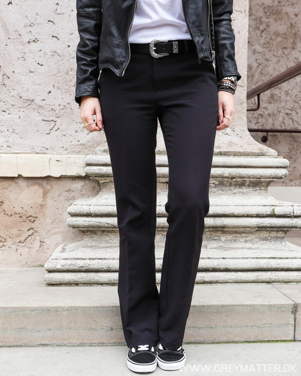 Neo Noir Cassie Pants set forfra