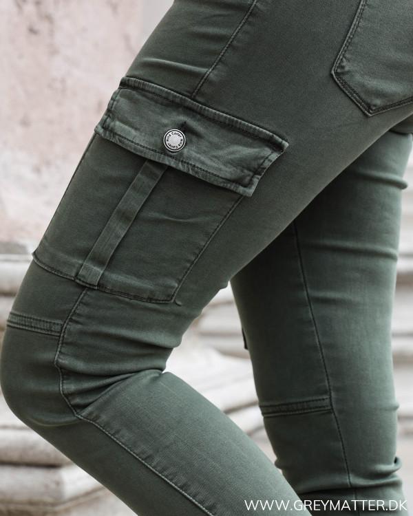 Army cargo bukser detaljebillede