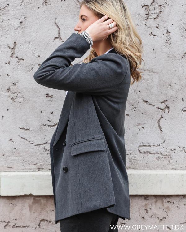 Neo Noir blazerjakke set fra siden