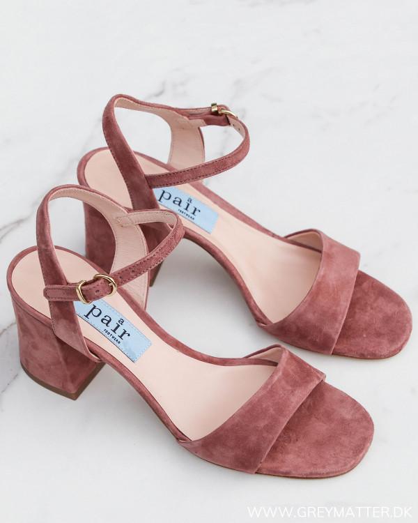 Apair Maia Classic Sandal Chunky Heel
