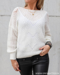 The Loose White Knit