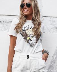 Vitabita Eagle White T-Shirt