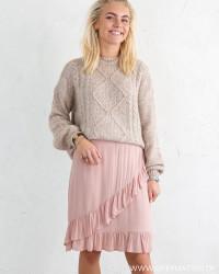 Pcflonny Misty Rose Skirt