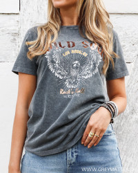 Vidulla Wild Soul Black T-Shirt