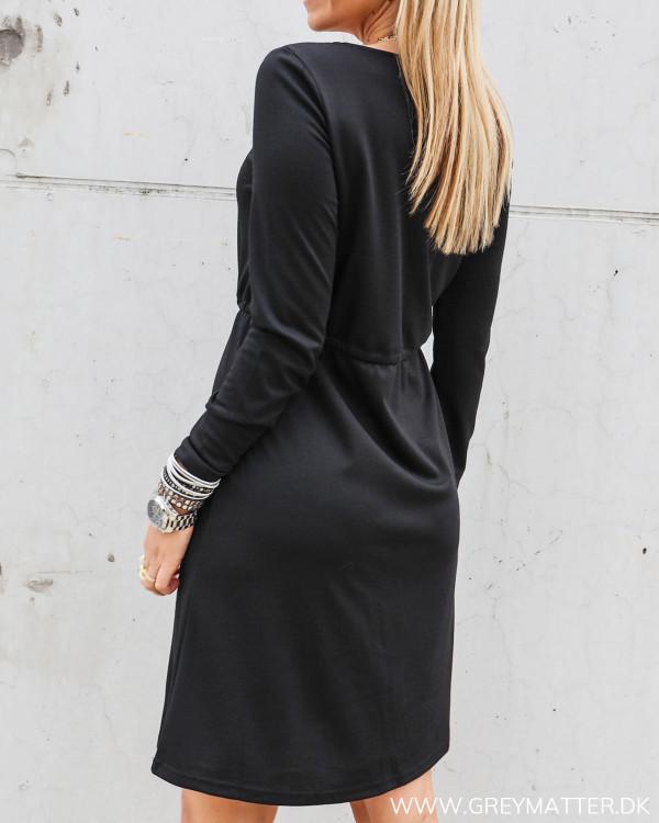 Vila sort kjole