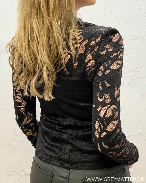 Vistasia Black Lace Top