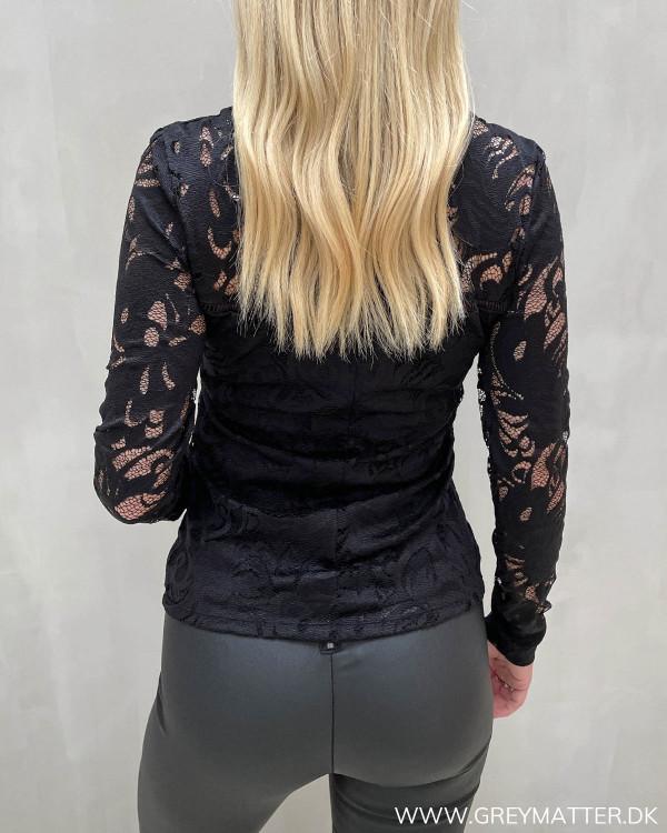 Sorte blondebluser til damer