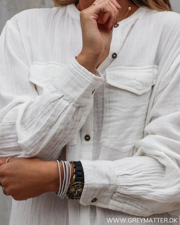 Skjorte fra Neo Noir set tæt på