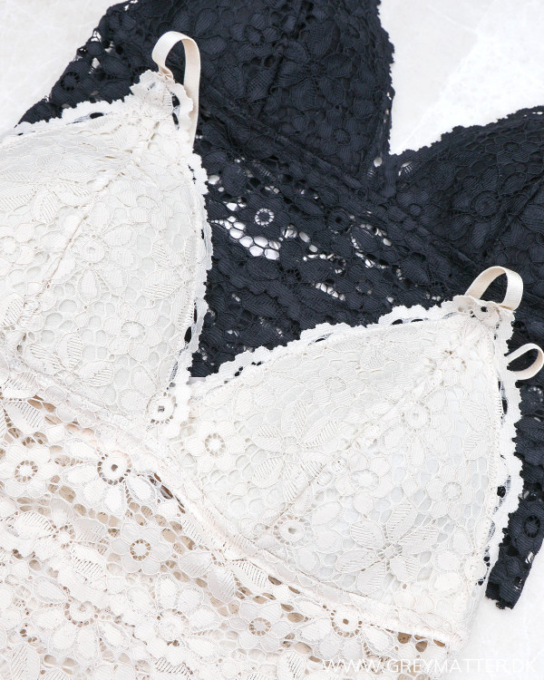 Pcarka Lace Black Bra