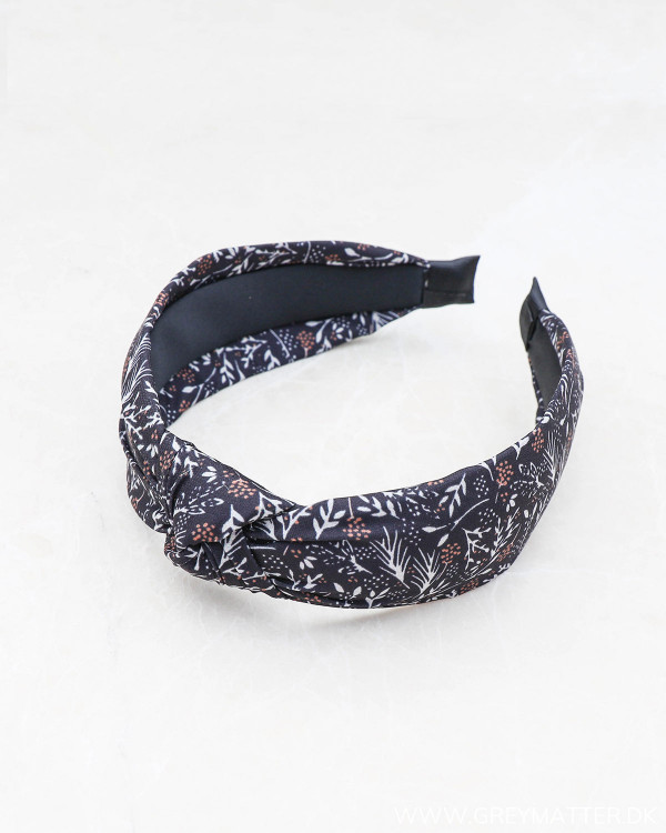 Pcrille Leafs Black Hairband