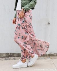 Vilulu Brick Dust Maxi Skirt