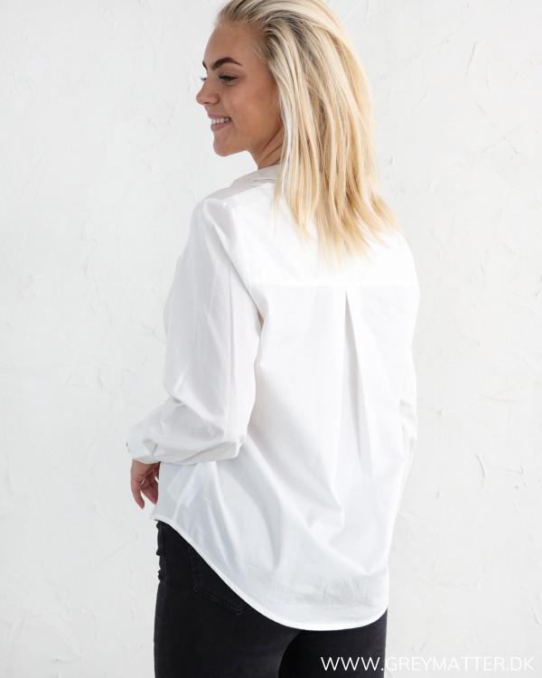 YAS skjorte i hvid