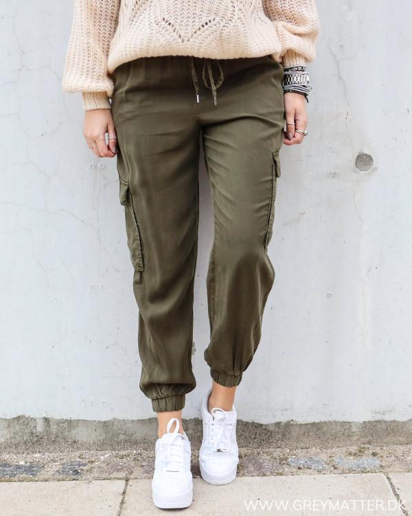 Casual bukser til damer i Cargo inspireret stil