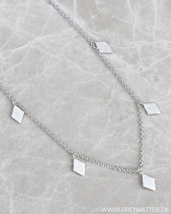 Trapez Silver Necklace