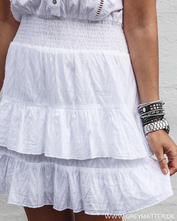 Hvid Neo Noir kjole