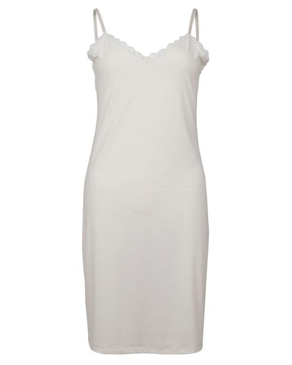 Linda Off-White Slipdress