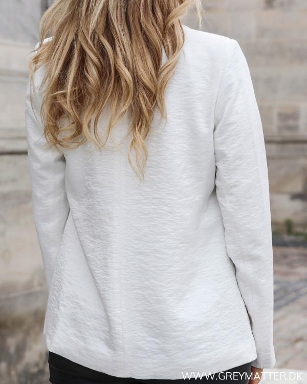 Hvid blazerjakke fra VIla