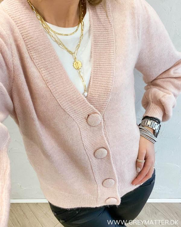 Pcdina Misty Rose Knit Cardigan