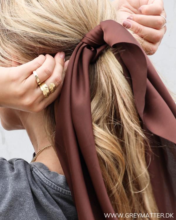Grey Matter hårpynt i mørkebrun