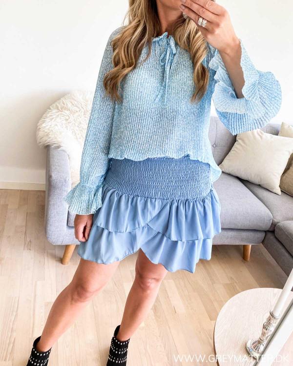 Carin Skirt fra Neo Noir i blå