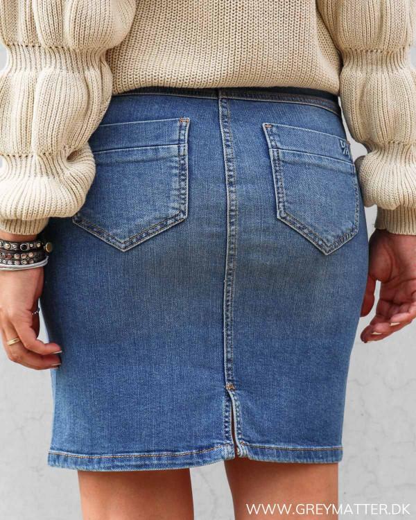 Denim nederdel i blå fra Denim Hunter