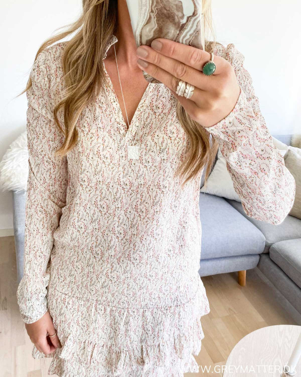 Neo Noir bluse med puff