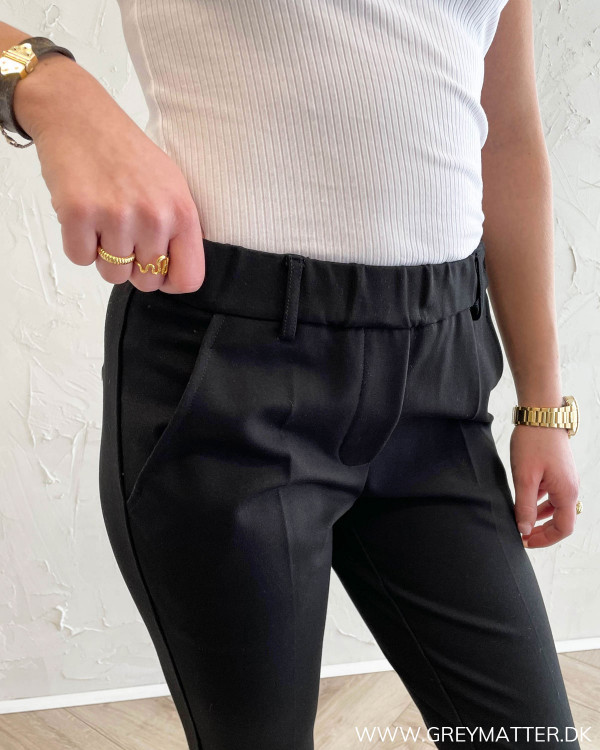 Andriana Black Soft Pants