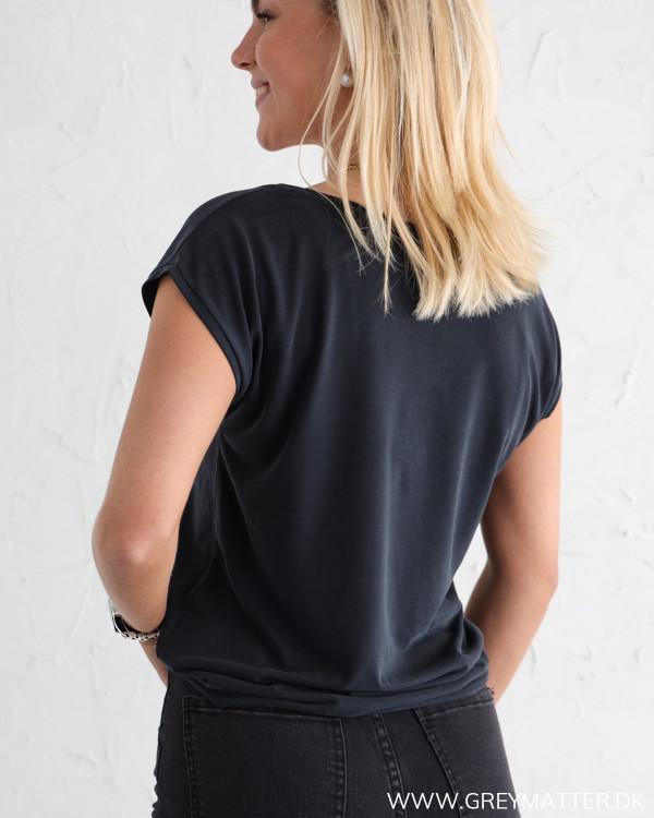 Sort Basic T-shirt fra Vila