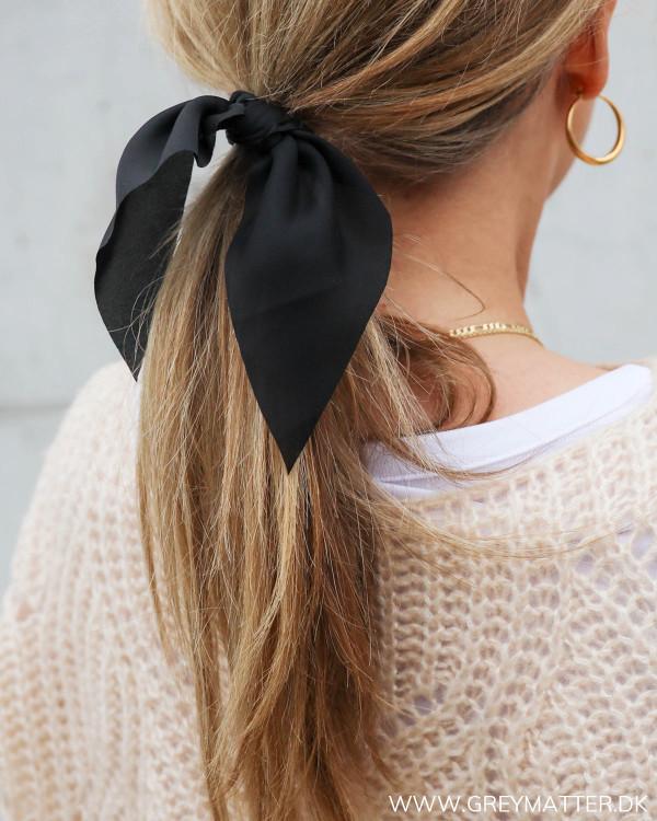 Pieces Pcmigga Black Scrunchie