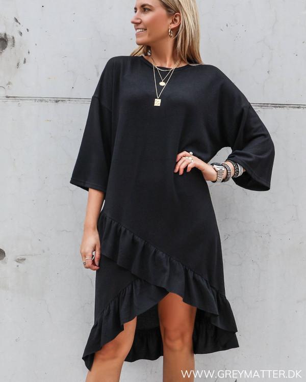 Sweat kjole i casual stil