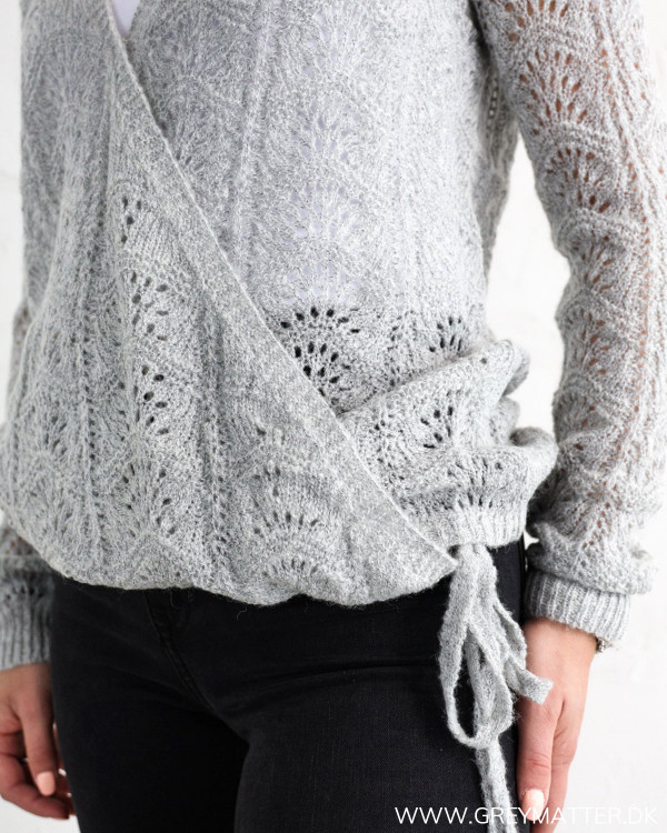 The Grey Cross Over Knit