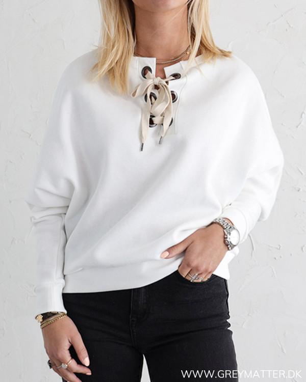Vila Sweatshirt i hvid