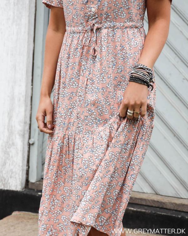 Pieces kjole style pcmie med blomsterprint