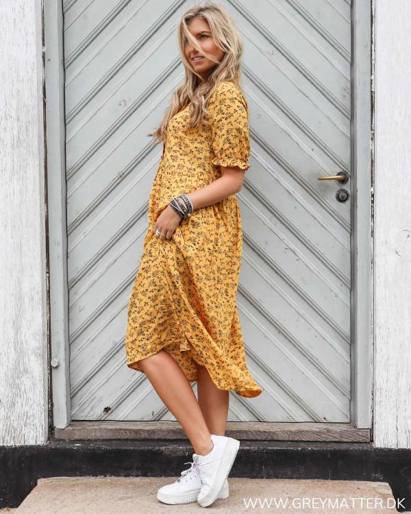 Kjole fra Pieces med print